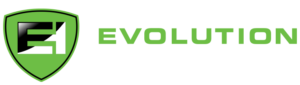 Evolution Health Club footer logo